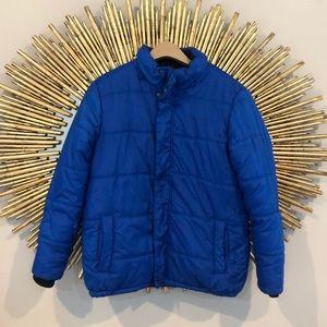 Kids Calvin Klein Jeans Blue Puffer Jacket